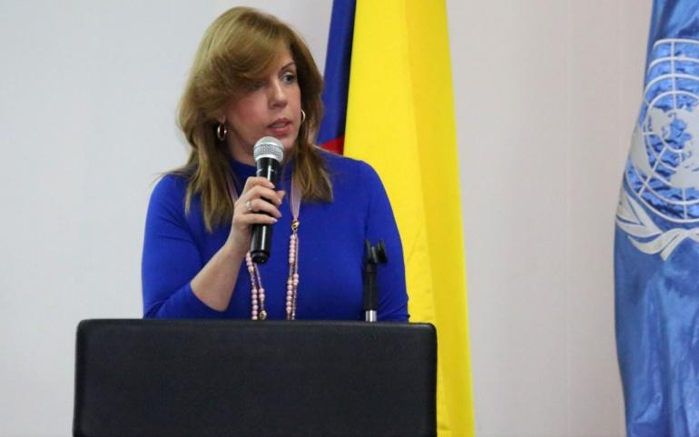 Este viernes Clara Luz Roldán se convertirá en la primera dama del deporte