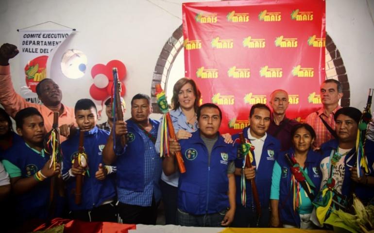 El Partido MAIS apoya a Clara Luz Roldán en su candidatura a la Gobernación del Valle del Cauca