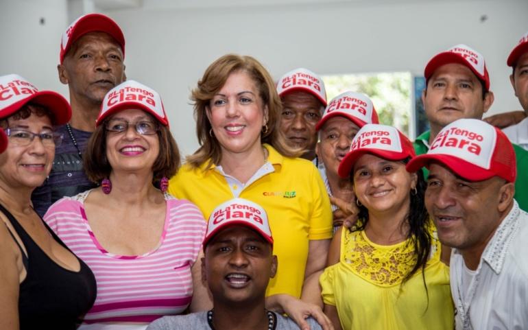 Clara Luz resaltó el desarrollo deportivo y cultural de la Comuna 20 de Cali