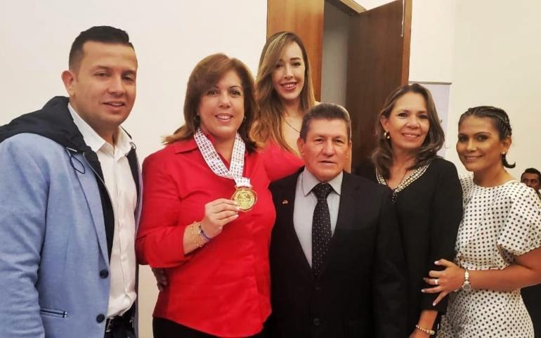 Dirigencia deportiva celebra reconocimiento a Clara Luz Roldán como la Dama del Deporte Panamericano