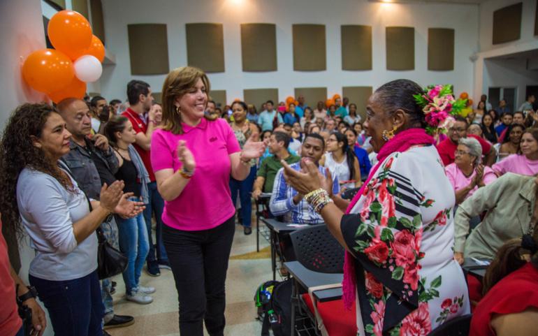 La Comuna 5 se quedó en mi corazón: Clara Luz
