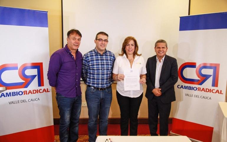 Cambio Radical va con Clara Luz Roldán a la Gobernación del Valle
