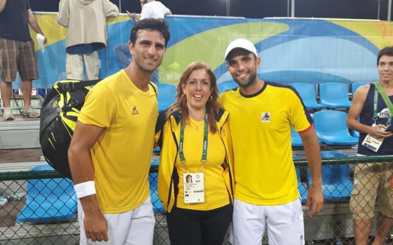 Clara Luz celebró el título de Robert Farah y Juan Sebastián Cabal y envió un mensaje a los campeones