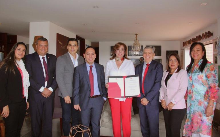 Los liberales están con Clara Luz Roldán
