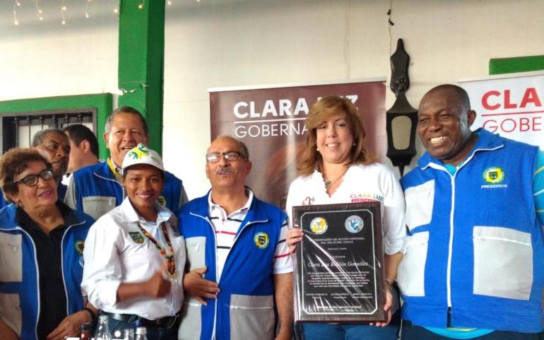 Clara Luz será la gobernadora de los comunales