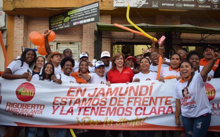 Jamundí y su seguridad, prioridad para Clara Luz Roldán