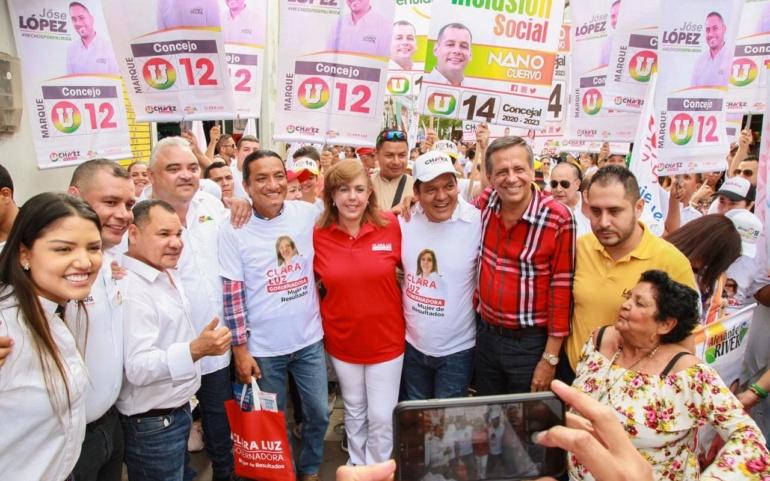 Palmira está con Clara Luz