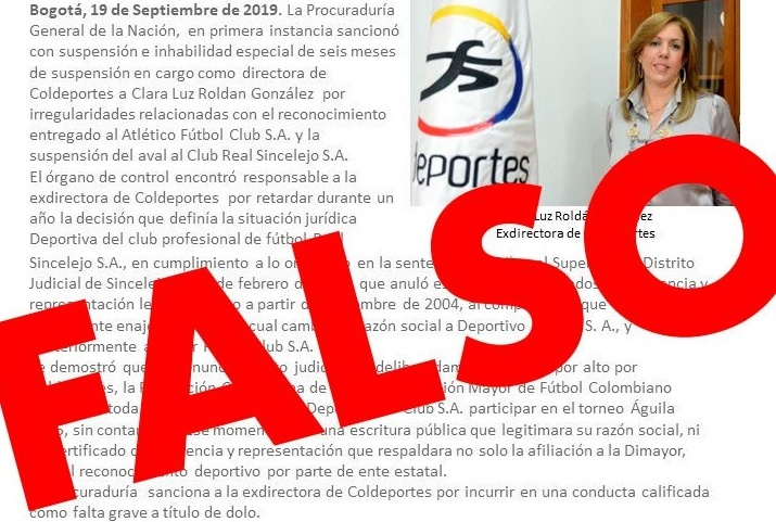 Clara Luz Roldán invita a las campañas a jugar limpio en la contienda por la Gobernación