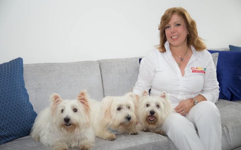 Los animales también ganarán este 27 de octubre con Clara Luz Roldán