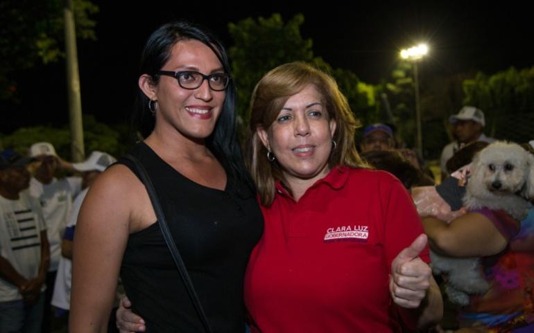 Clara Luz será la gobernadora del respeto por la diversidad y de la igualdad para las mujeres