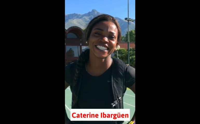 Caterine Ibargüen también desea que Clara sea la próxima Gobernadora