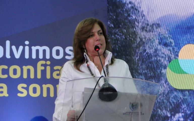 Clara Luz Roldán confirmó nuevos funcionarios en su gabinete departamental