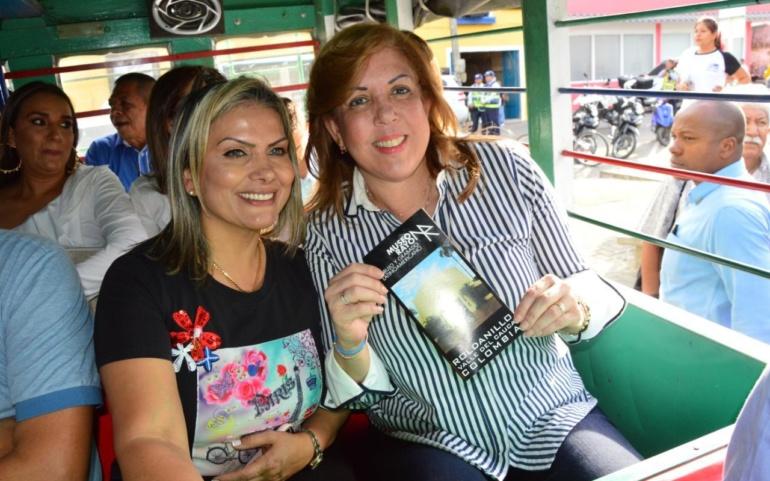Clara Luz Roldán cumplió su promesa y lanzó primera Ruta Turística del Dulce y de la Uva