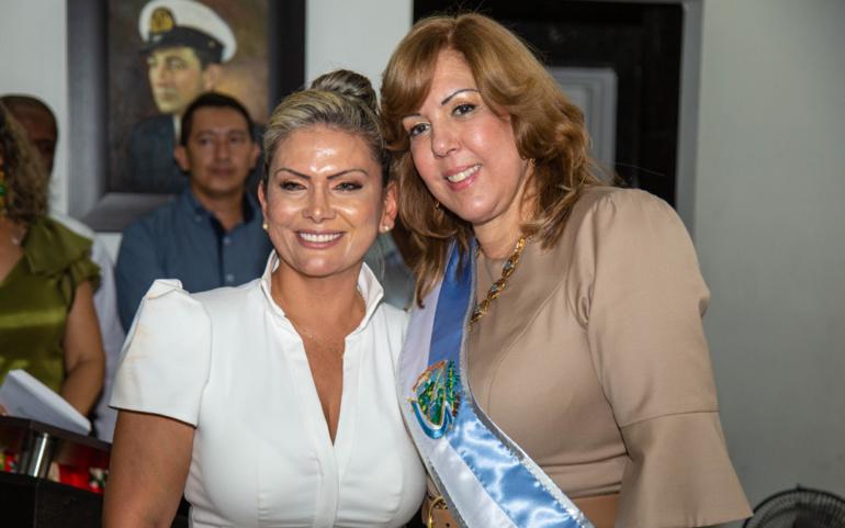 Este es el gabinete departamental que se posesionó con la  gobernadora Clara Luz Roldán
