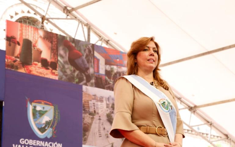 A solo nueve días de haberse posesionado, gobernadora Clara Luz Roldán ya cumple su primera agenda ministerial en Bogotá